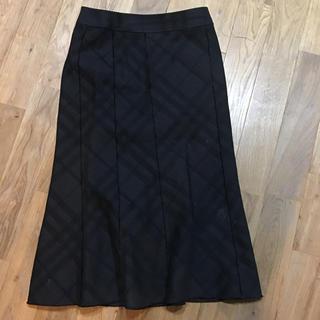 バーバリー(BURBERRY)のBurberry マーメイドスカート(ひざ丈スカート)