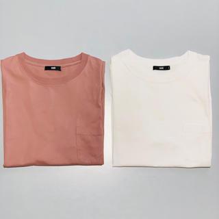 HARE - HARE ハレ カットソー Tシャツ 2枚セット