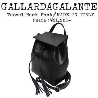 GALLARDA GALANTE - ★美品★定価¥3,1万★GALLARDAGALANTE★リュック★イタリア製★黒