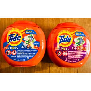 コストコ(コストコ)の57個 2個 Tide タイド アメリカ 洗剤 オールインワン ジェルボール (洗剤/柔軟剤)
