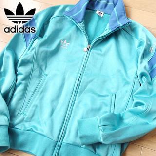 アディダス(adidas)のレアカラー M アディダス 80's デサント ジャージ/ジャケット グリーン(ジャージ)