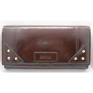 アルファキュービック(ALPHA CUBIC)の【新品】アルファキュービック 長財布 ブラウン レディース (財布)