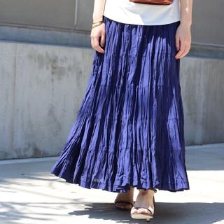 ノーブル(Noble)の新品タグ付き【MARIHA】草原の虹のスカート(ロングスカート)