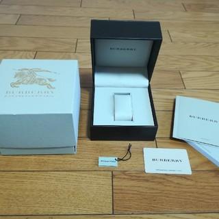 バーバリー(BURBERRY)のバーバリーBURBERRY腕時計ボックス箱プレゼントインテリアロゴギャラカード(腕時計(アナログ))