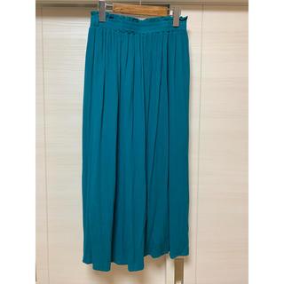 シマムラ(しまむら)のHK WORKS LONDON グリーンのロングスカート♪(ロングスカート)