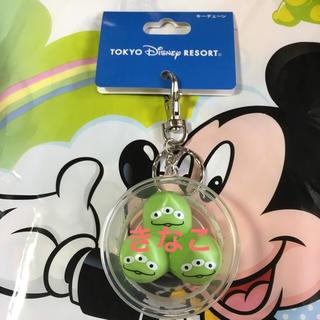 Disney - ディズニー リトルグリーンマン キーチェーン パークフード TDR