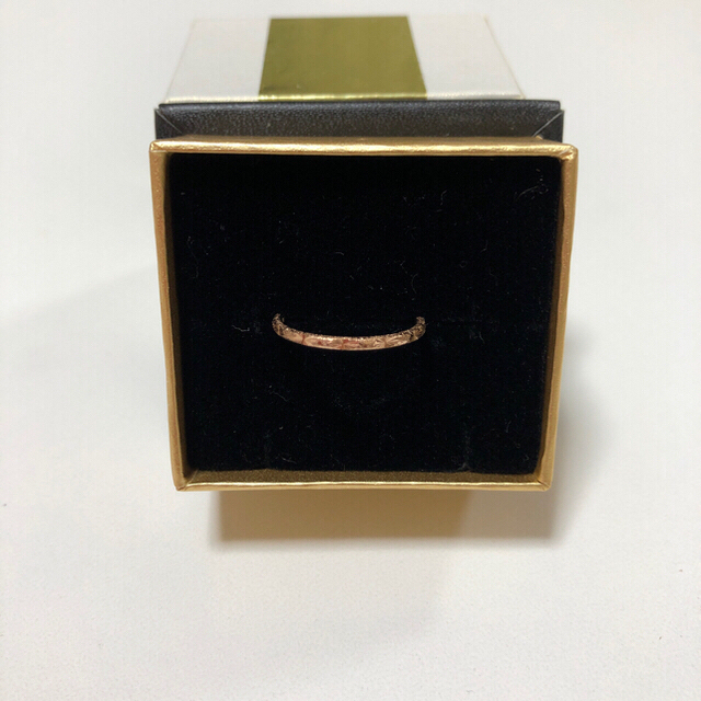 ete(エテ)のete リング 指輪 ピンクゴールド 7号 ※指輪のみ レディースのアクセサリー(リング(指輪))の商品写真