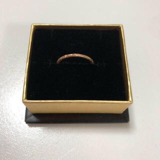 エテ(ete)のete リング 指輪 ピンクゴールド 7号(リング(指輪))