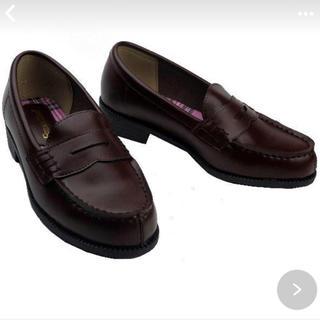 通学 ローファー 23.0 ブラウン(ローファー/革靴)