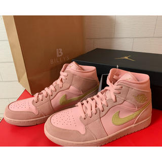 ナイキ(NIKE)の限定カラー Nike Air Jordan1 エアジョーダン1 ナイキ ピンク(スニーカー)