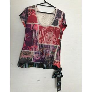 デシグアル(DESIGUAL)のデジグアルサイズL半袖(Tシャツ(半袖/袖なし))