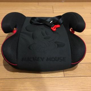 ディズニー(Disney)のミッキーマウスジュニアシート(自動車用チャイルドシート本体)