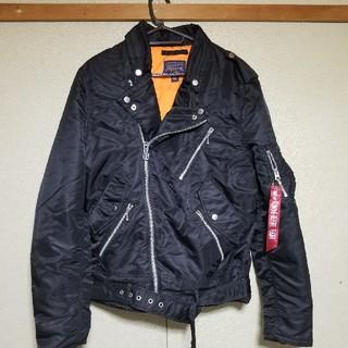 アルファ(alpha)のZERO様専用【Alpha Outlow Biker Jacket】(ライダースジャケット)