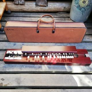 SUZUKI 大正琴 松 ソフトケース付 和楽器 伝統文化 お稽古 音楽