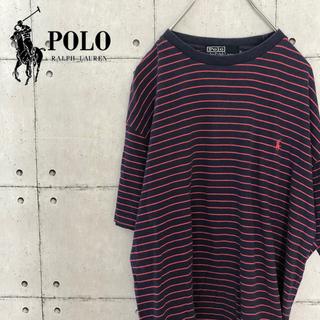 POLO RALPH LAUREN - 【レア】90s ポロ ラルフローレン ボーダー Tシャツ