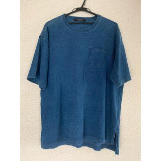 ナノユニバース(nano・universe)のnano universe ナノユニバース ビッグT M インディゴ(Tシャツ/カットソー(半袖/袖なし))