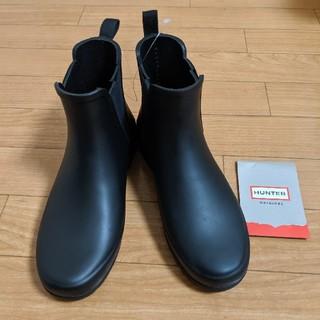 ハンター(HUNTER)のHUNTER ハンター サイドゴア レインブーツ 黒 UK3/22センチ(レインブーツ/長靴)
