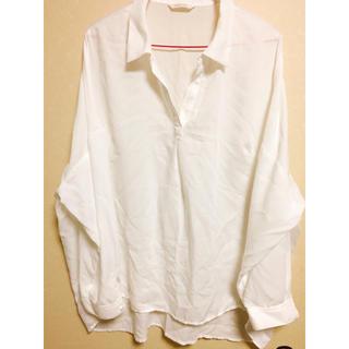 しまむら - オーバーサイズシャツ3L