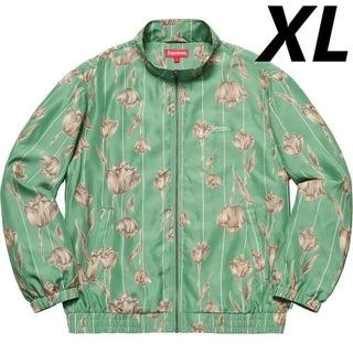 Supreme - 【XL】Supreme Floral Silk Track Jacket