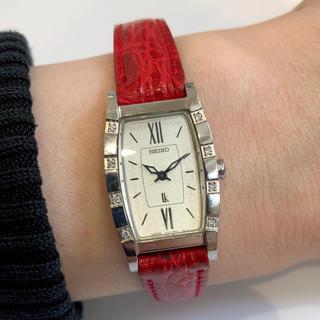 SEIKO - SEIKO セイコー LUKIA ルキア 8ポイントダイヤ レディース 腕時計