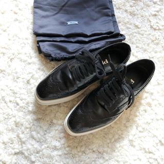 プラダ(PRADA)の美品❤️PRADA❤️ウィングチップシューズ❤️miumiuステラマッカートニー(ローファー/革靴)