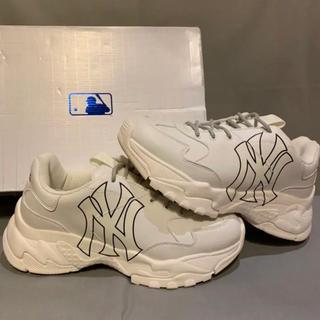 NEW ERA - ダッドシューズ ダッドスニーカー MLB KOREA 白靴 韓国ファッション