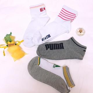 アディダス(adidas)の[子供用女子]ブランドソックスセット♪(ソックス)