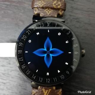 ルイヴィトン(LOUIS VUITTON)のLouis Vuitton タンブールホライゾン スマートウォッチ 正規品!(腕時計(デジタル))