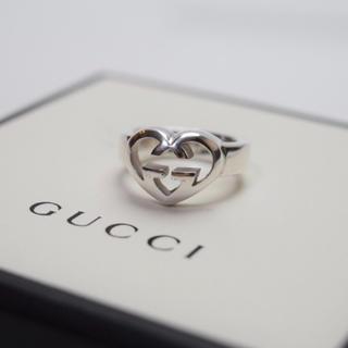 Gucci - 送料無料/GUCCI/グッチ/指輪・リング/インターロッキング/シルバー/10号