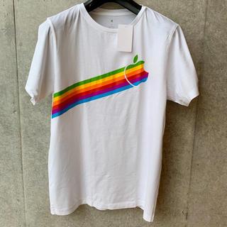 アップル(Apple)の【新品】アップルパーク限定 アップルTシャツ サイズS Apple Mac(Tシャツ/カットソー(半袖/袖なし))