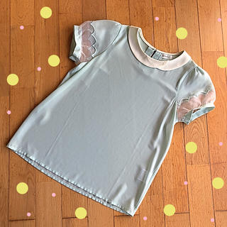 フェリシモ(FELISSIMO)の*シホォン素材シャツ(シャツ/ブラウス(半袖/袖なし))