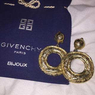 GIVENCHY - 正規品givenchy goldイヤリング