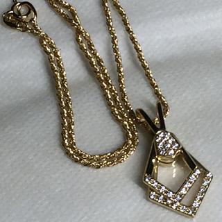 Waltham - ウォルサム WALTHM K18 ムービングダイヤモンド ネックレス