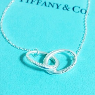 Tiffany & Co. - 未使用品 ティファニー ダブルループネックレス ミニ