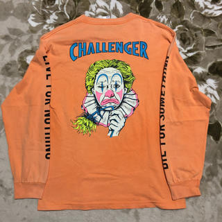 FTC - challenger washed crown tシャツ ロンt ピエロ m
