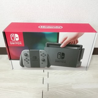 Nintendo Switch - Switch 本体 グレー