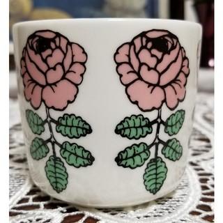 マリメッコ(marimekko)のマリメッコ  ヴィヒキルース  ラテマグ  ピンク(グラス/カップ)