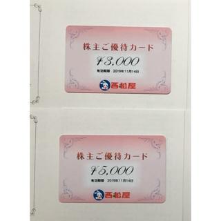 西松屋 8000円分