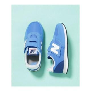 New Balance - ニューバランス☆PV220スニーカー ♪サイズ20センチ!ブルー新品