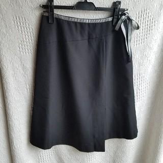フェリシモ(FELISSIMO)のフェリシモ リボン付きスカート(ひざ丈スカート)