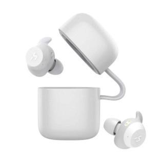 Bluetooth イヤホン 完全ワイヤレス イヤホン ホワイト