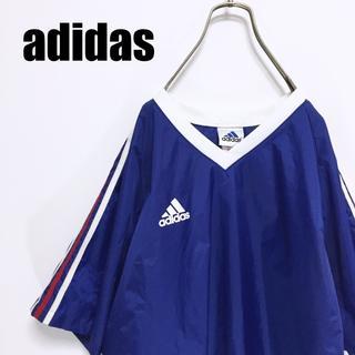 アディダス(adidas)の90s adidas アディダス ナイロン ゲームシャツ Tシャツ(Tシャツ/カットソー(半袖/袖なし))