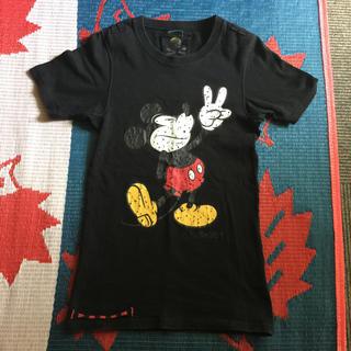 ロエン(Roen)のロエン ミッキーマウスTシャツ  ダメージ加工  今週までお値下げ中(Tシャツ(半袖/袖なし))