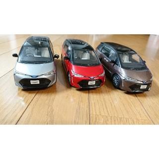 トヨタ - 非売品 トヨタ エスティマ ハイブリッド カラーサンプル ミニカー 三台セット