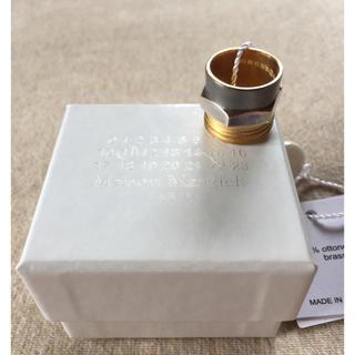 マルタンマルジェラ(Maison Martin Margiela)のM新品61%off マルジェラ ボルトナット リング 指輪 マルチ(リング(指輪))