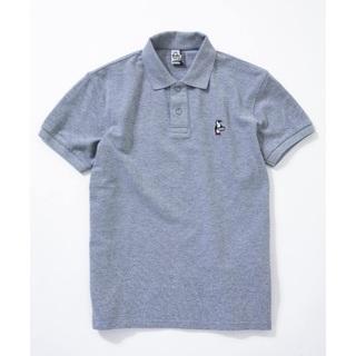 CHUMS - Chums チャムス ポロシャツ グレー Mサイズ
