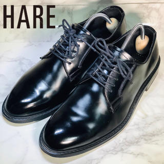 HARE - HARE ハレ革靴 プレーントゥ