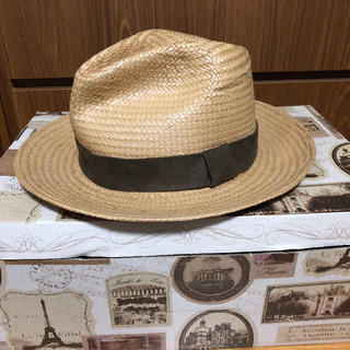 ユニクロ(UNIQLO)のハット 麦わら帽子 UNIQLO  未使用(麦わら帽子/ストローハット)