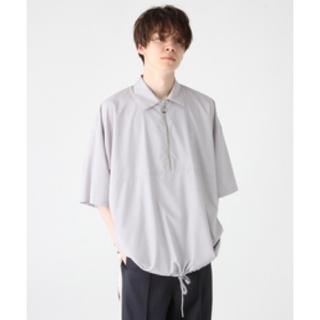 ハレ(HARE)のHARE エリツキハーフZIPプルオーバー(Tシャツ/カットソー(半袖/袖なし))