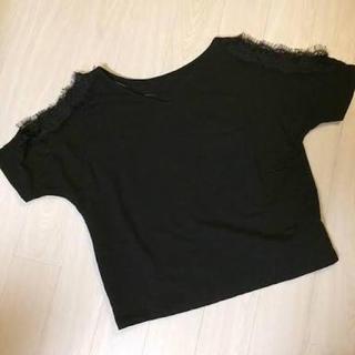 ジーユー(GU)の*新品未使用 GU 肩開きトップス*(カットソー(半袖/袖なし))